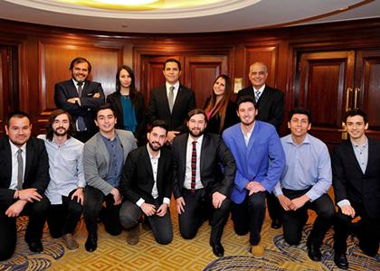 Alumnos de la U. Finis Terrae participarán en el CFA Institute Research Challenge versión 2017 -2018 en Santiago
