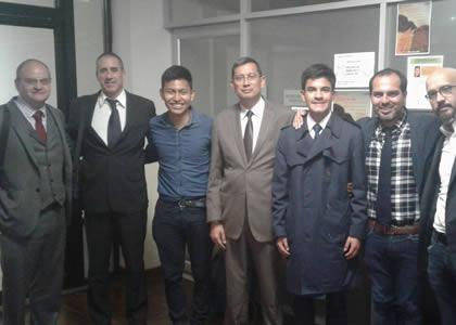 Profesor Rodrigo Barcia expone en las Segundas Jornadas Internacionales de Derecho en Quito