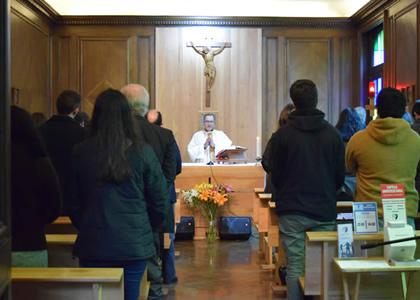 Universidad Finis Terrae celebró con misa solemne el Mes del Sagrado Corazón