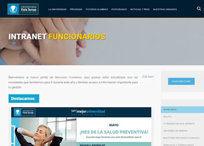 Intranet Institucional