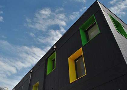 Jardin infantil diseñado por la FAD gana Premio Aporte Urbano