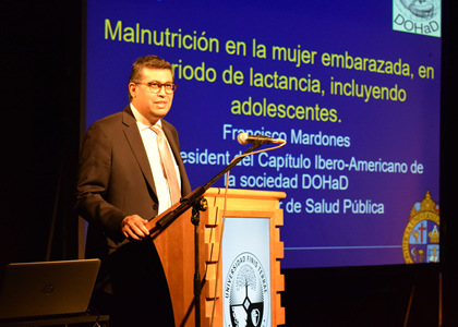 Escuela de Nutrición y Dietética realiza Jornadas de Actualización
