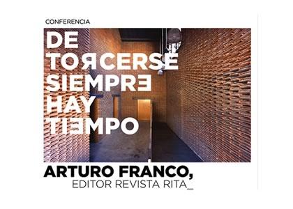 Arquitecto español Arturo Franco dictará conferencia en la FAD