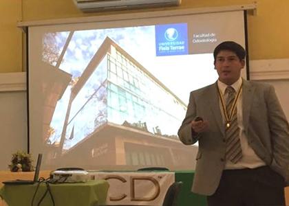Docente de la Escuela de Odontología participa en II Congreso del International College of Dentists en Colombia