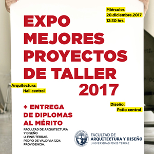 Expo Mejores Proyectos de Taller 2017.