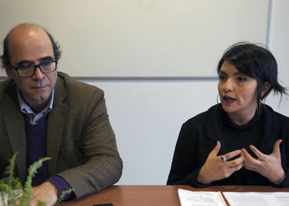 Profesora Sara Moreno expone en 4º Encuentro de Investigación