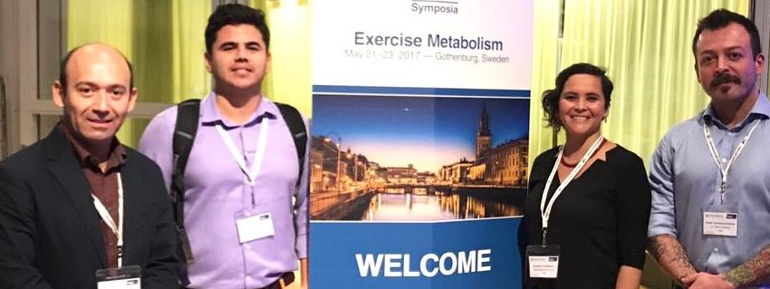 Investigadores de la Escuela de Kinesiología participaron en importante congreso en Suecia