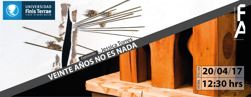 """Exposición: """"Veinte años no es nada"""" Jessica Torres"""