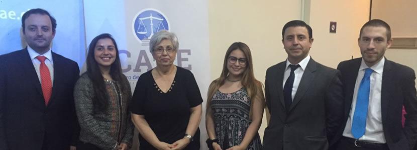 Alto interés por charla acerca de la Ley de Tramitación Electrónica organizada por el Centro de Alumnos de Derecho