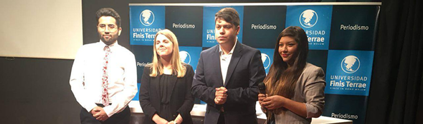 Carrera de Periodismo realizó exitoso reporteo de las Elecciones Presidenciales 2017