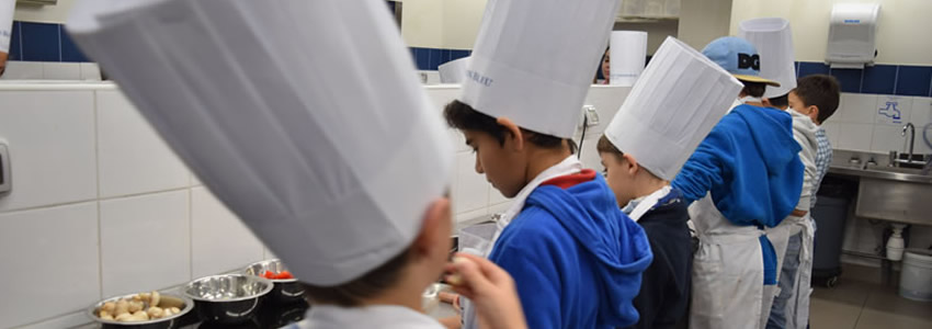 Le Cordon Bleu Chile realiza 2da versión del Winter Kids Cooking