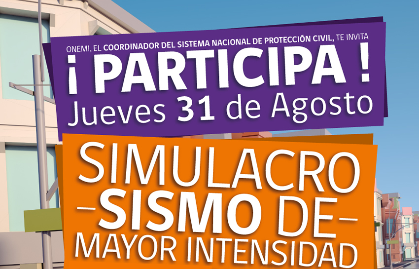 U. Finis Terrae participará en Simulacro de Sismo que se realizará a nivel nacional
