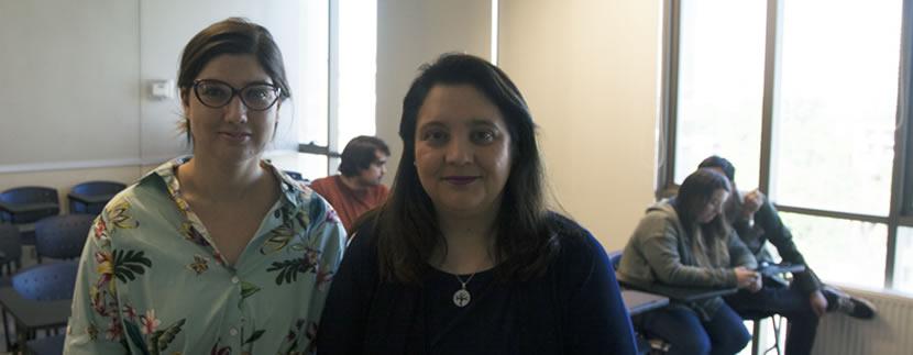 Profesora Mª Luisa Baltra ofrece coloquio sobre medio ambiente a estudiantes de segundo año de Derecho