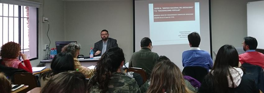 Escuela de Historia y CIDOC realizan Seminariosobre Guerra Fría en América (1945-1973)