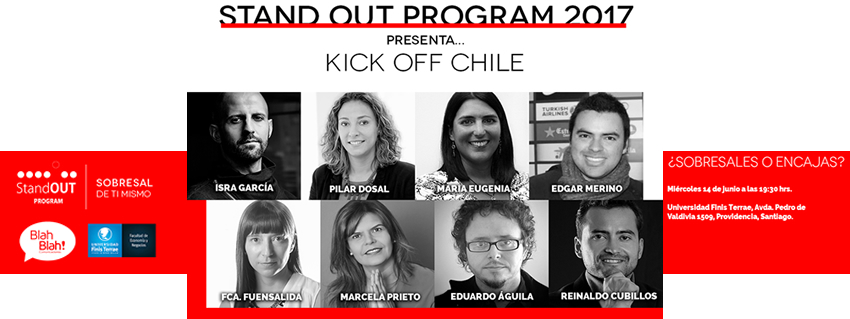 """Stand OUT Program"" llega a Chile conEducación Profesional Disruptiva"