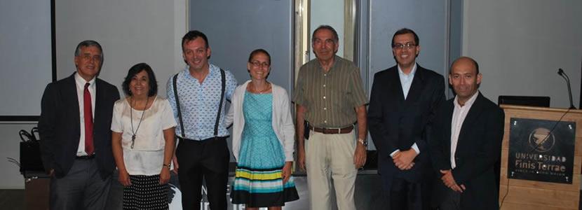 Escuela de Kinesiología reunió a grandes expositores en Seminario