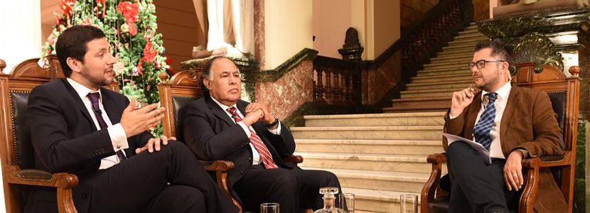 Profesor José Ignacio Núñez es entrevistado para Poder Judicial TV