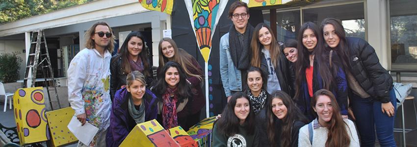 Alumnos de Diseño participaron en Workshop con Payo Söchting