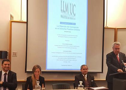 Docente de la  Facultad de Derecho participa en intensa agenda de extensión