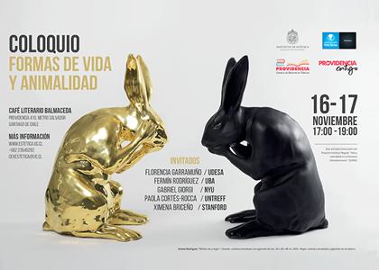 """Escuela de Literatura organizó Coloquio """"Formas de Vida y Animalidad"""""""