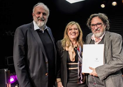 """Silvio Caiozzi entregó detalles sobre su película """"Y de Pronto el Amanecer"""" en Cátedra Siglo XXI"""