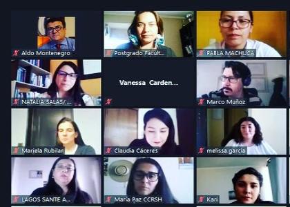 Postgrado y Educación Continua dio la bienvenida a estudiantes del Magíster en Educación con menciones