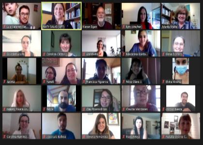 Unidad de Postgrado y Educación realizó workshop internacional sobre educación imaginativa para la enseñanza