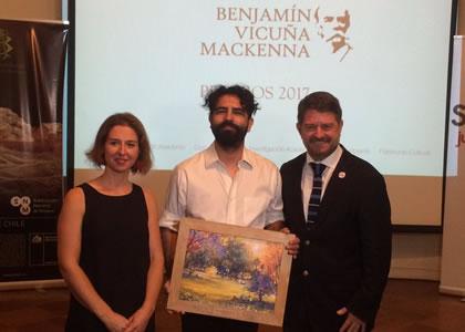 Director de Postgrados de la FAD recibe Premio Benjamín Vicuña Mackenna