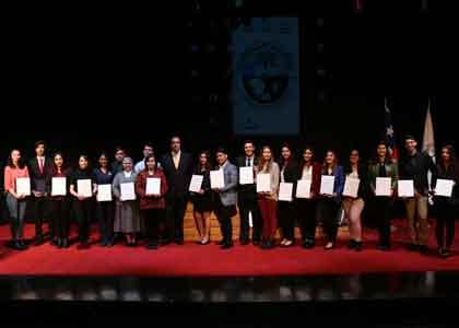 52 estudiantes recibieron el Premio a la Excelencia Académica