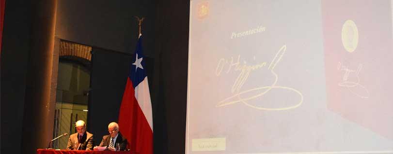 Universidad Finis Terrae y Ejército de Chile presentaron investigación histórica sobre Bernardo O'Higgins