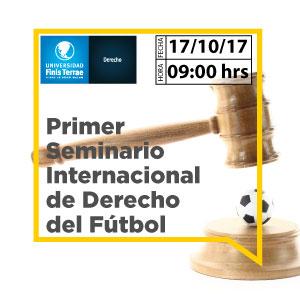 Primer Seminario Internacional de Derecho del fútbol
