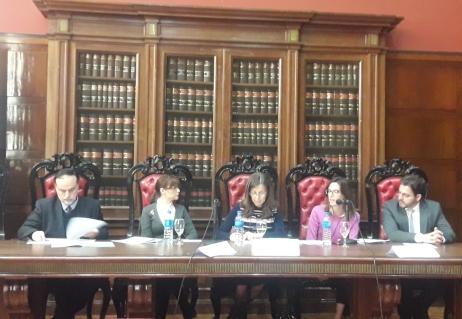 Académicos de la Facultad de Derecho participan en XIV Jornadas Iberoamericanas de Derecho Constitucional