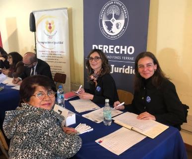 Participación de docentes Clínica Jurídica Civil-Familia en actividades de Senama