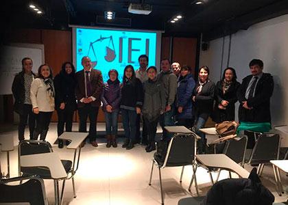Profesor Rodrigo Barcia dicta curso en Academia Judicial