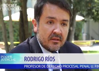 Profesores de la Facultad son entrevistados para el noticiero del Poder Judicial