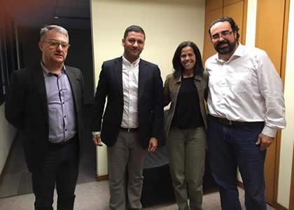 Profesores de Derecho realizan visita académica a universidades de Brasil