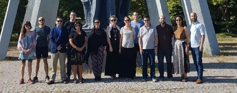 Profesores de Periodismo, Humanidades, Arte y Derecho expusieron en Turquía