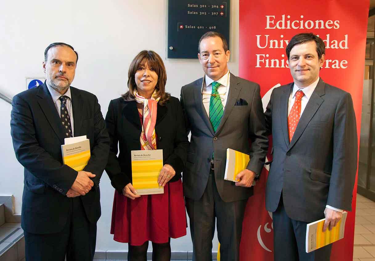 Expertos abordan temática de Propiedad Intelectual e Industrial en Revista de Derecho