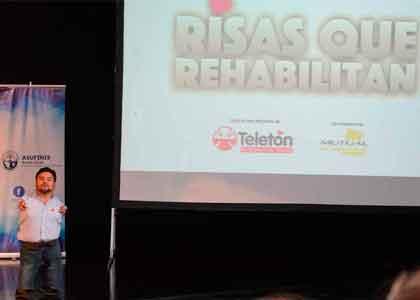 """""""Risas que rehabilitan"""" un mensaje de resiliencia a través del humor"""