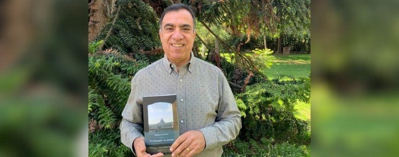 """""""El Pensador y su sombra"""" se llama el primer libro de ficción escrito por Roberto Vega"""