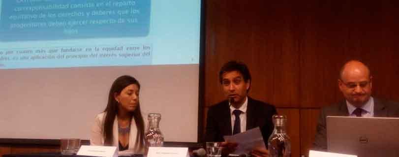 Académico Rodrigo Barcia abordó el principio de la coparentalidad en Seminario de Justicia de Familia