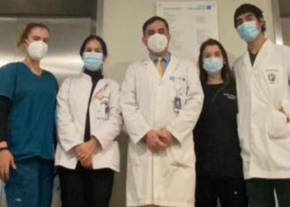 Internos de la Escuela de Medicina comenzaron sus rotaciones en Clínica BUPA Santiago