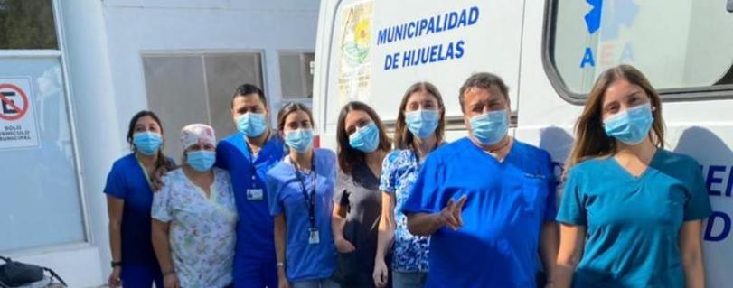 Internos de Medicina reanudaron rotaciones presenciales en campos clínicos rurales
