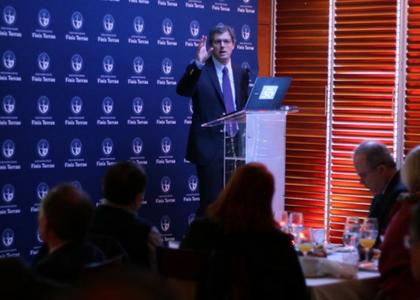 Diario La Segunda | Economista Sebastián Claro expone en Club Monetario de la U. Finis Terrae