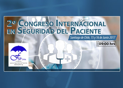 II Congreso internacional en Seguridad del Paciente se realizará en la U. Finis Terrae