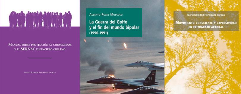 Protección al consumidor, la Guerra del Golfo y movimiento en el trabajo actoral son los temas de los tres libros presentados en la U. Finis Terrae