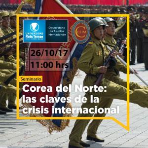 """Seminario """"Corea del Norte: las claves de la crisis internacional"""""""