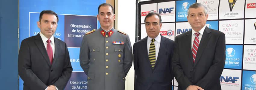 Observatorio de Asuntos Internacionales realiza seminario junto a Ejército de Chile