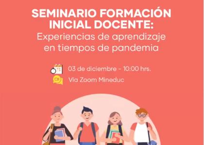Pedagogía en Educación Parvularia destacó en seminario sobre aprendizaje durante la pandemia