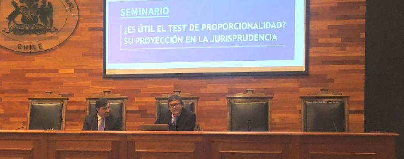 Decano de la Facultad de Derecho U. Finis Terrae expuso sobre la proporcionalidad en la jurisprudencia del Tribunal Constitucional